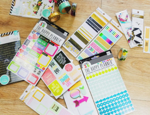 erin condren sticker haul