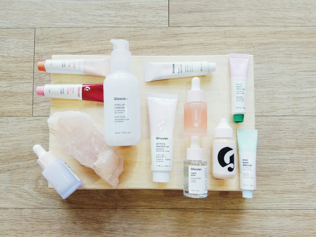 Glossier Haul and Review