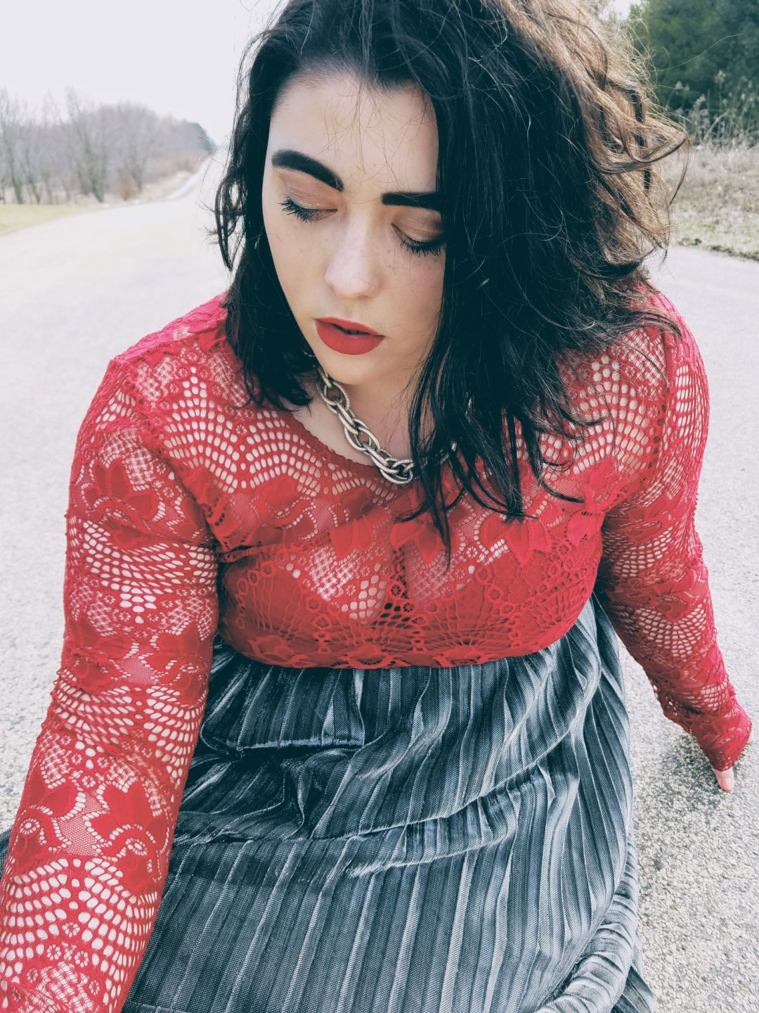spring lace style by inspo and co