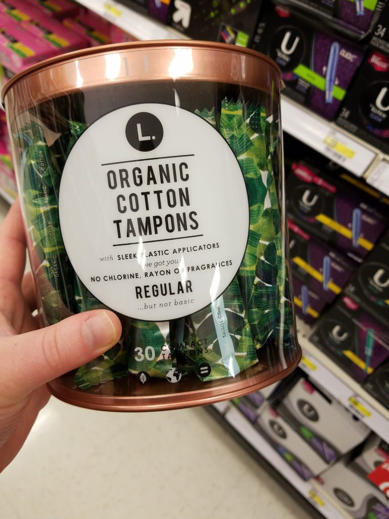 feminine hygiene products for periods at Target