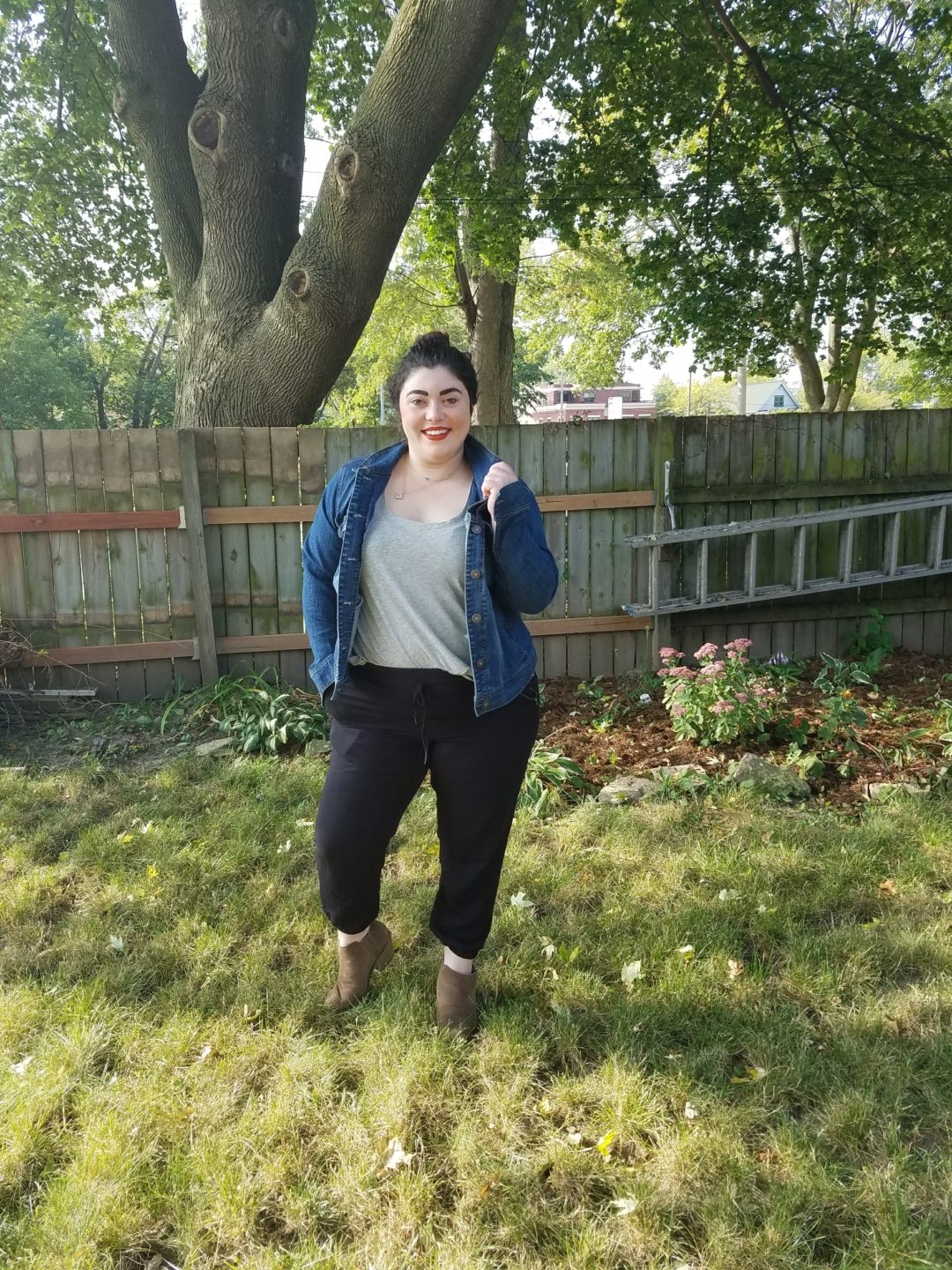 fall denim jacket update inspo and co