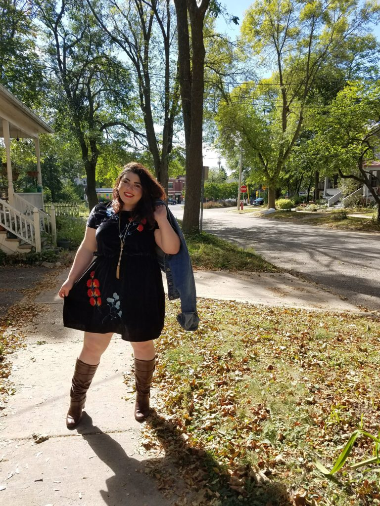 fall plus size fashion trend inspo