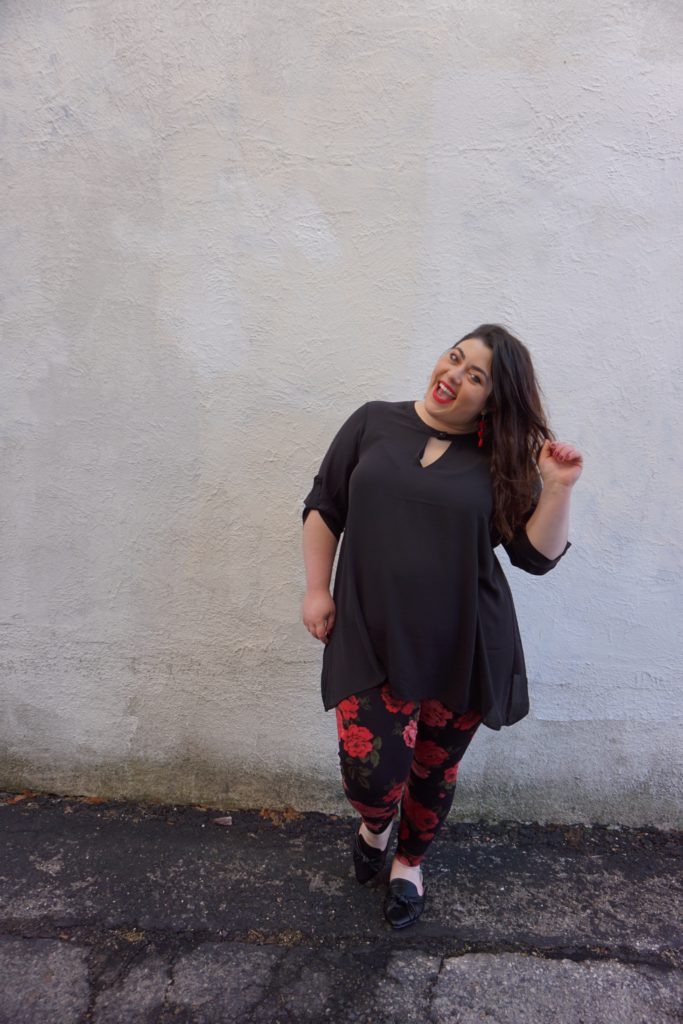 Torrid Plus Size Leggings Outfit