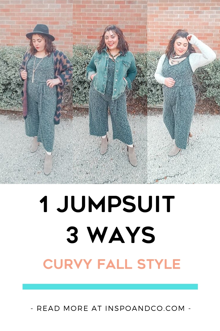 Turn 1 Summer Jumpsuit into 3 Easy Fall Outfits