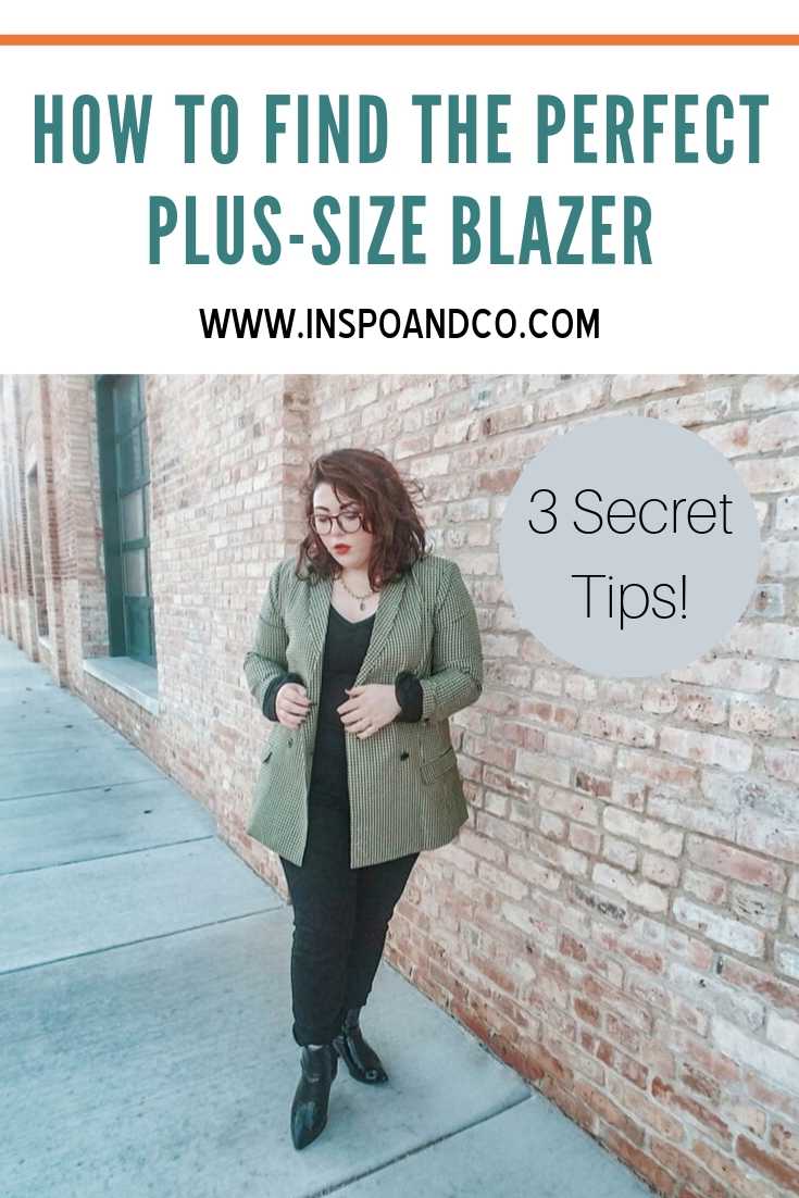 How to Find the Perfect Plus-Size Blazer